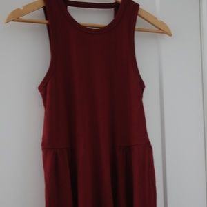 New Hollister red dress XS